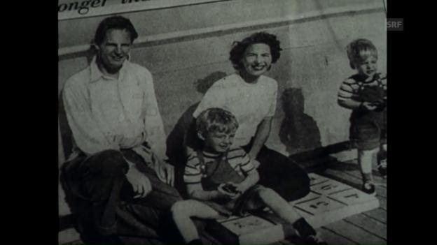 Video ««Der Fall MacLean», Schweizerische Filmwochenschau vom 25.9.1953» abspielen
