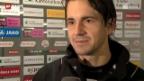 Video «Fussball: SL, Stimmen aus St. Gallen» abspielen