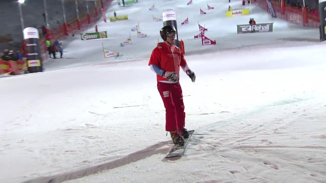Kein Podestplatz für Alpin-Snowboarder