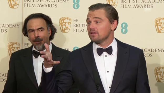 Video «Leonardo DiCaprio gewinnt «Bafta»-Award» abspielen