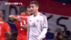 Video «Fussball: EM-Quali, Niederlande - Lettland, Tore» abspielen