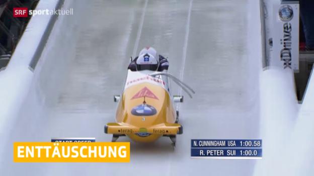 Video «Bob: Weltcup Winterberg» abspielen