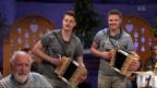 Video «Auftritt «Seerugge Feger» mit dem Titel «E langi Nacht»» abspielen