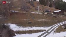 Video «Im Januar endlich der Schnee – Bericht aus Brigels» abspielen