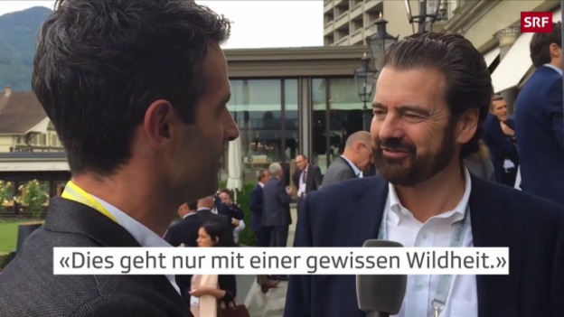 Video «Alles wilde Hunde am Swiss Economic Forum?» abspielen