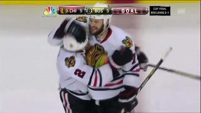 Entscheidung bei Boston-Chicago (Spiel 4)