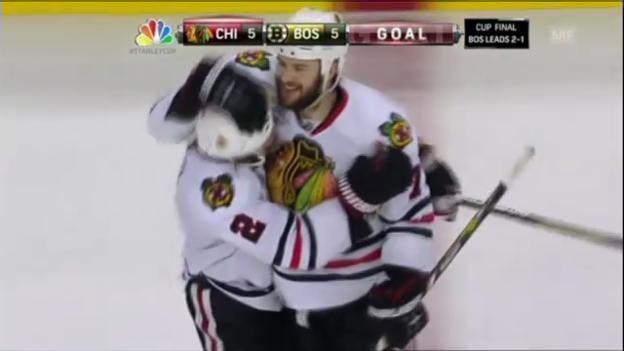 Video «Entscheidung bei Boston-Chicago (Spiel 4)» abspielen