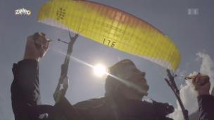 Video «Wie fliegt man einen Gleitschirm?» abspielen