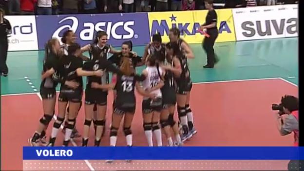 Video «Souveräne Cupsiege für Volero und Köniz («sportaktuell»)» abspielen