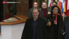 Video «Varoufakis kündet Rücktritt an» abspielen