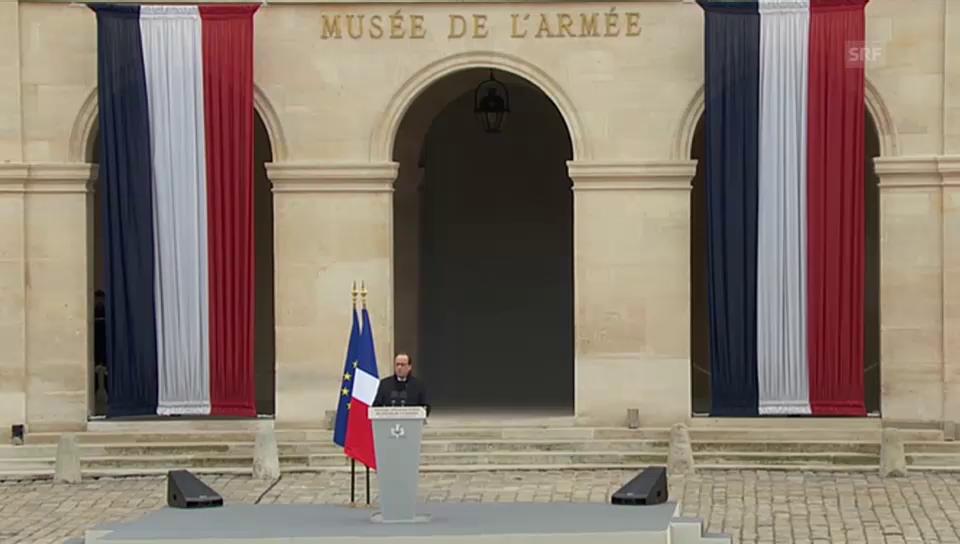 Hollande: «Diese Generation ist das Gesicht Frankreichs»