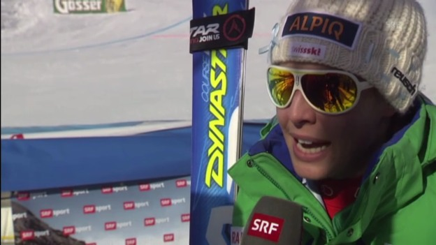 Video «Ski: Interview Dominique Gisin («sportlive»)» abspielen