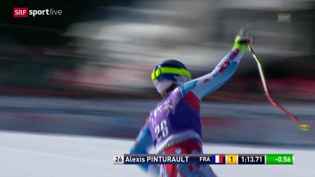 Ski: Zusammenfassung Super-G Männer Lenzerheide («sportlive», 13.3.14)
