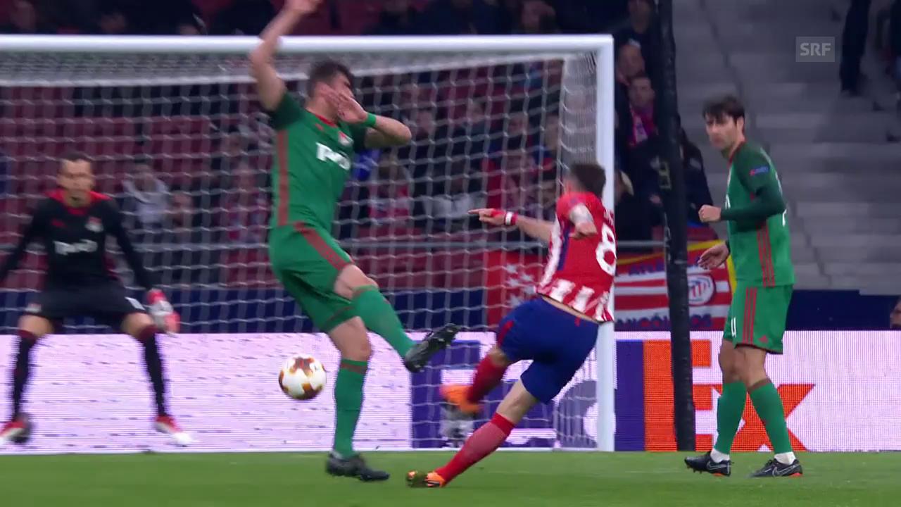 Sauls herrlicher Treffer zum 1:0