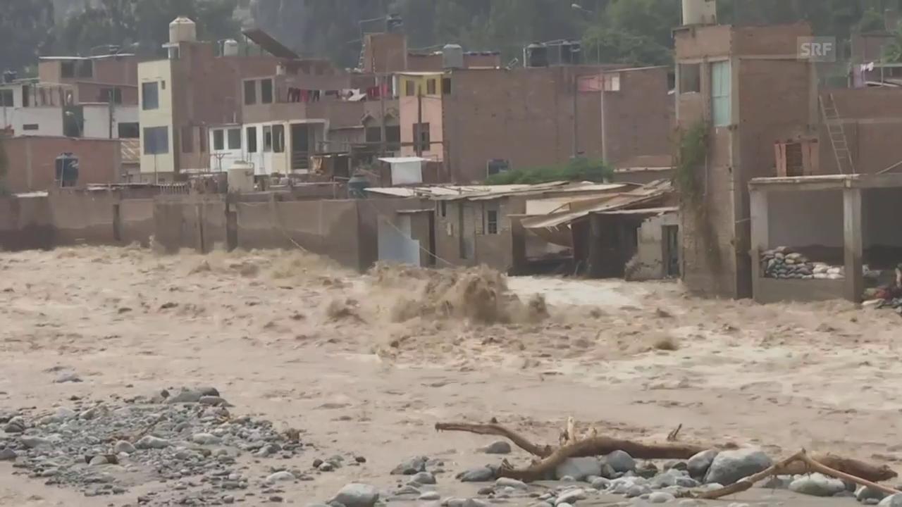 Überschwemmungen und Erdrutsche