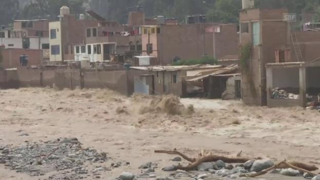 Video «Überschwemmungen und Erdrutsche» abspielen