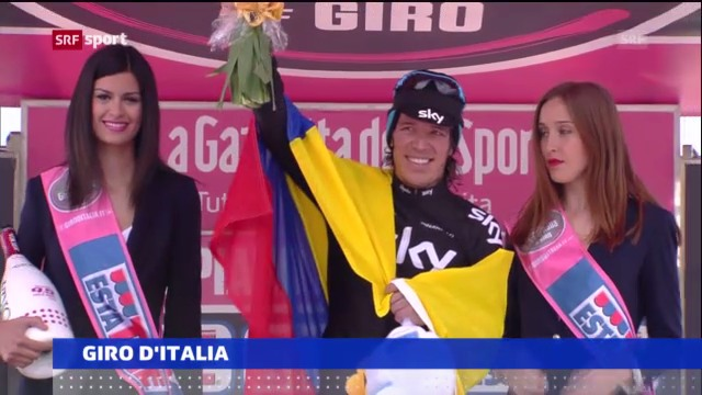 Giro: Uran gewinnt 10. Etappe («sportnews»)