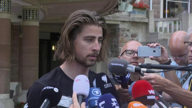 Video «Urteil bleibt bestehen: Sagan muss Tour verlassen» abspielen
