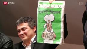 Video «FOKUS: Mohammed erneut auf Titelseite» abspielen
