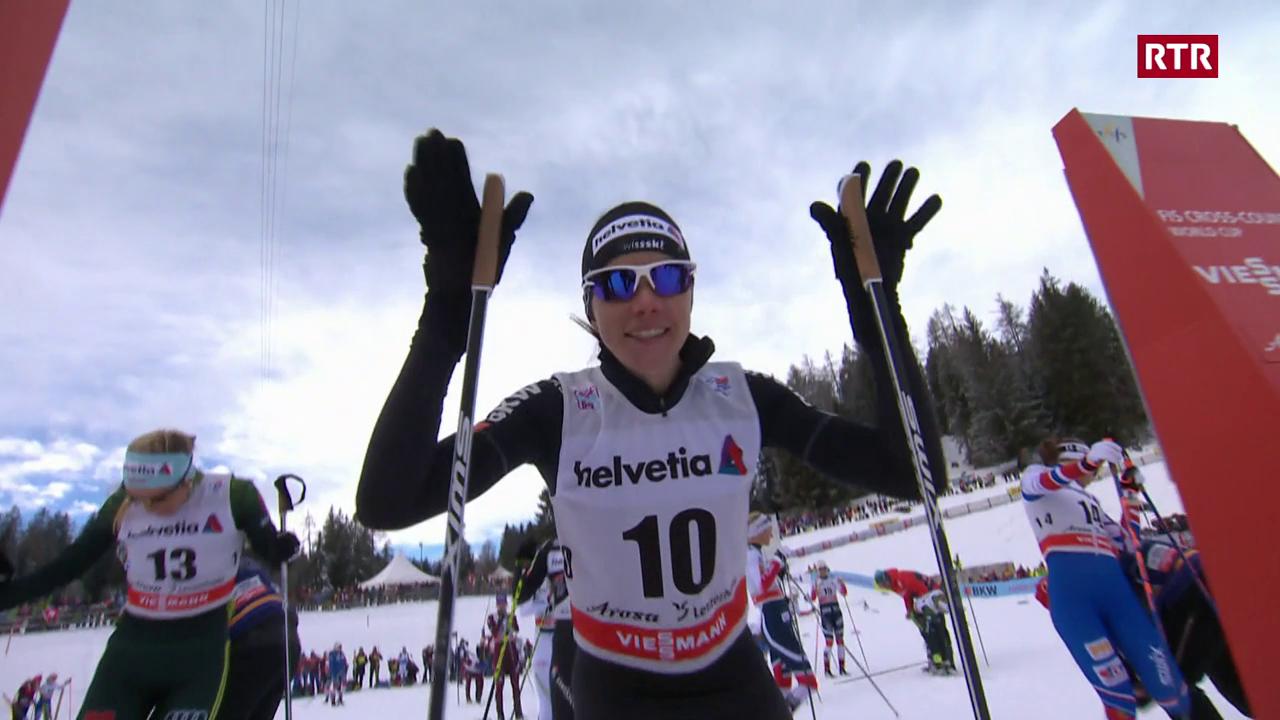 Tour de Ski - Nathalie von Sibenthal