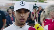 Link öffnet eine Lightbox. Video Hamilton: «Rang 2 ist kein schlechter Start» abspielen