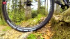 Video «Mountainbiker mit grösseren Rädern unterwegs» abspielen