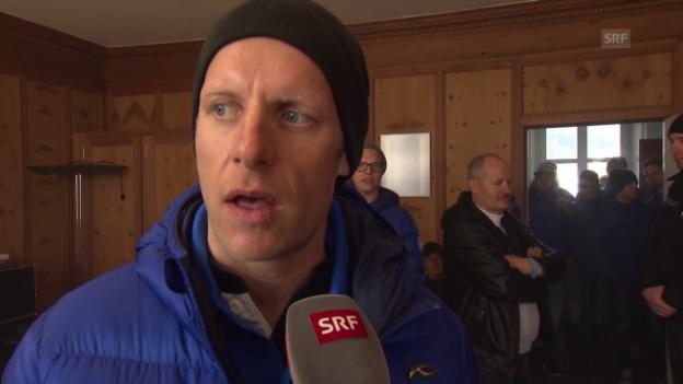 Video «Eishockey: Reto von Arx im Interview» abspielen