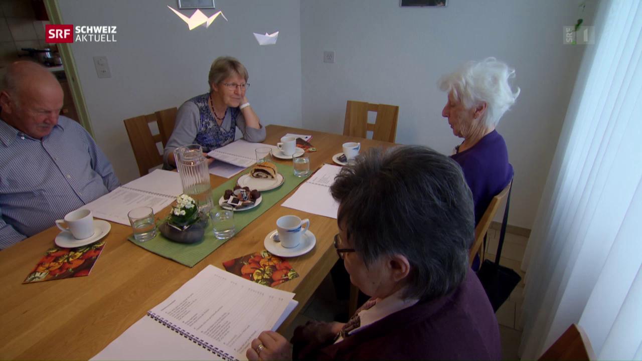 Pflegen «So wie daheim»: Neue Betreuungsangebote für Demente