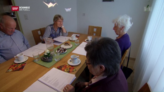 Video «Pflegen «So wie daheim»: Neue Betreuungsangebote für Demente» abspielen