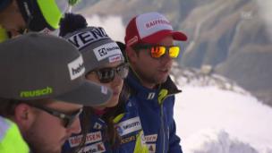 Video «Strahlende Schweizer Weltmeister in Zermatt» abspielen
