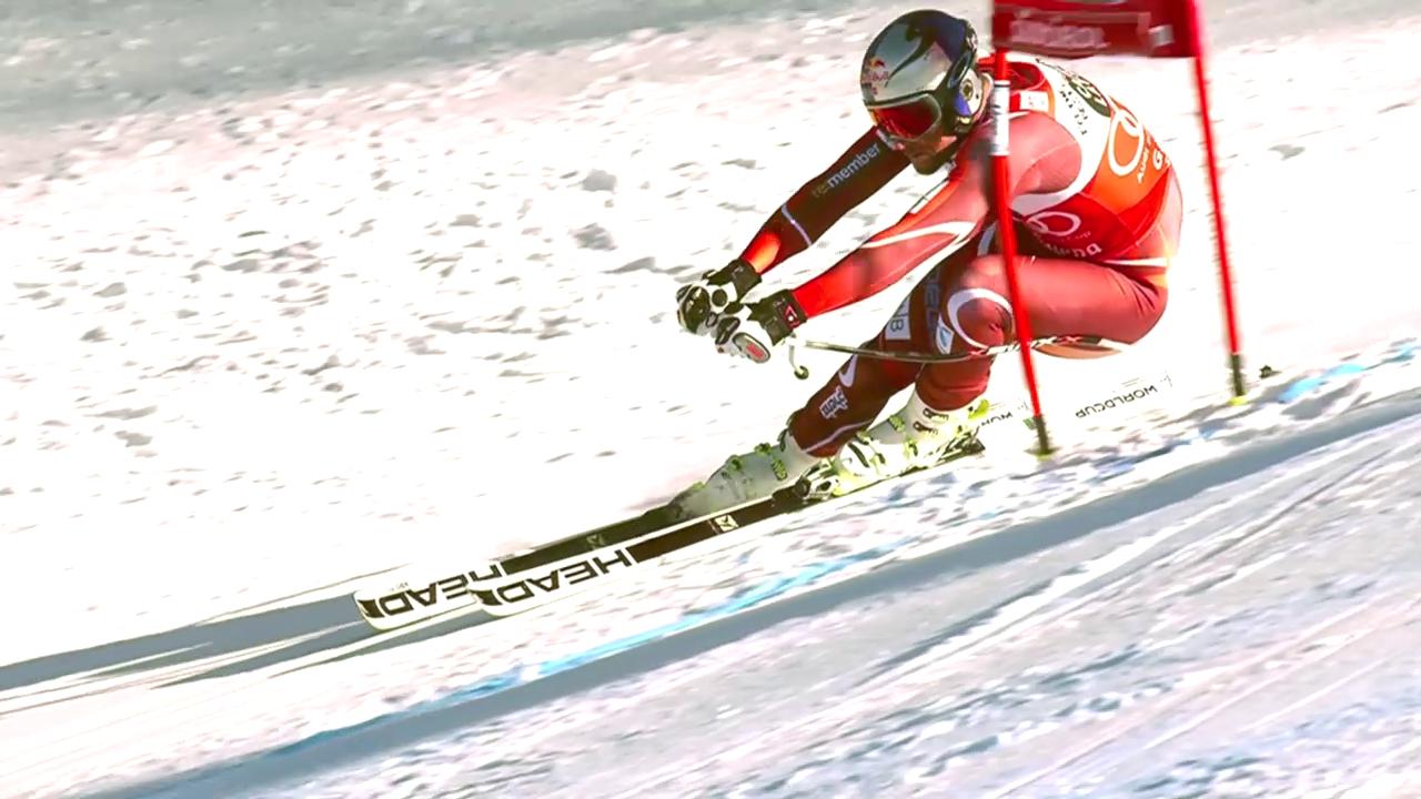 Ski Alpin, Weltcup, Super-G Gröden, Fahrt Svindal