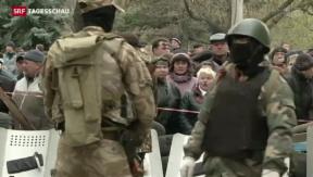Video «Offensive gegen pro-russische Separatisten» abspielen
