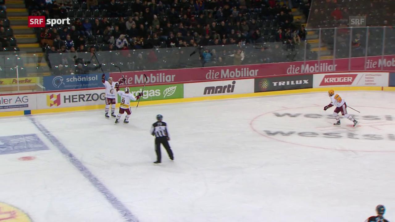 Tömmernes schiesst Genf gegen Bern zum Overtime-Sieg