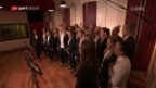 Video «Die Frauen-Nati singt «United in Red»» abspielen