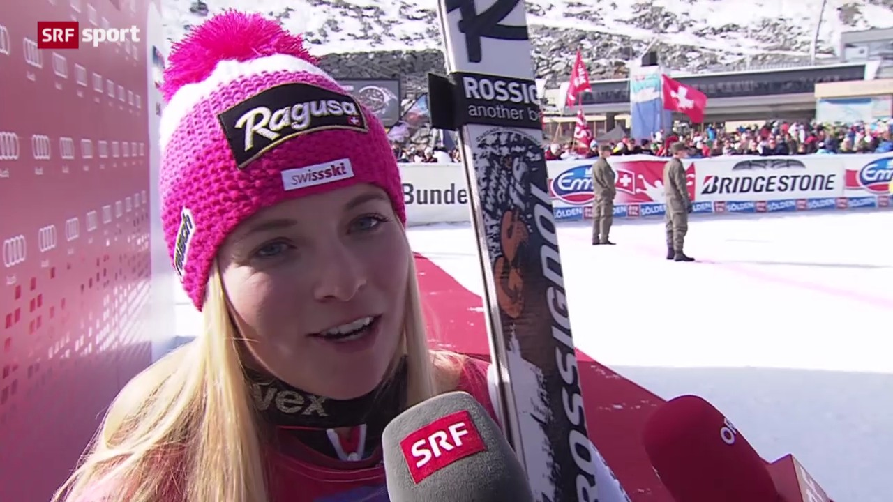 RS Sölden: Interview mit Lara Gut