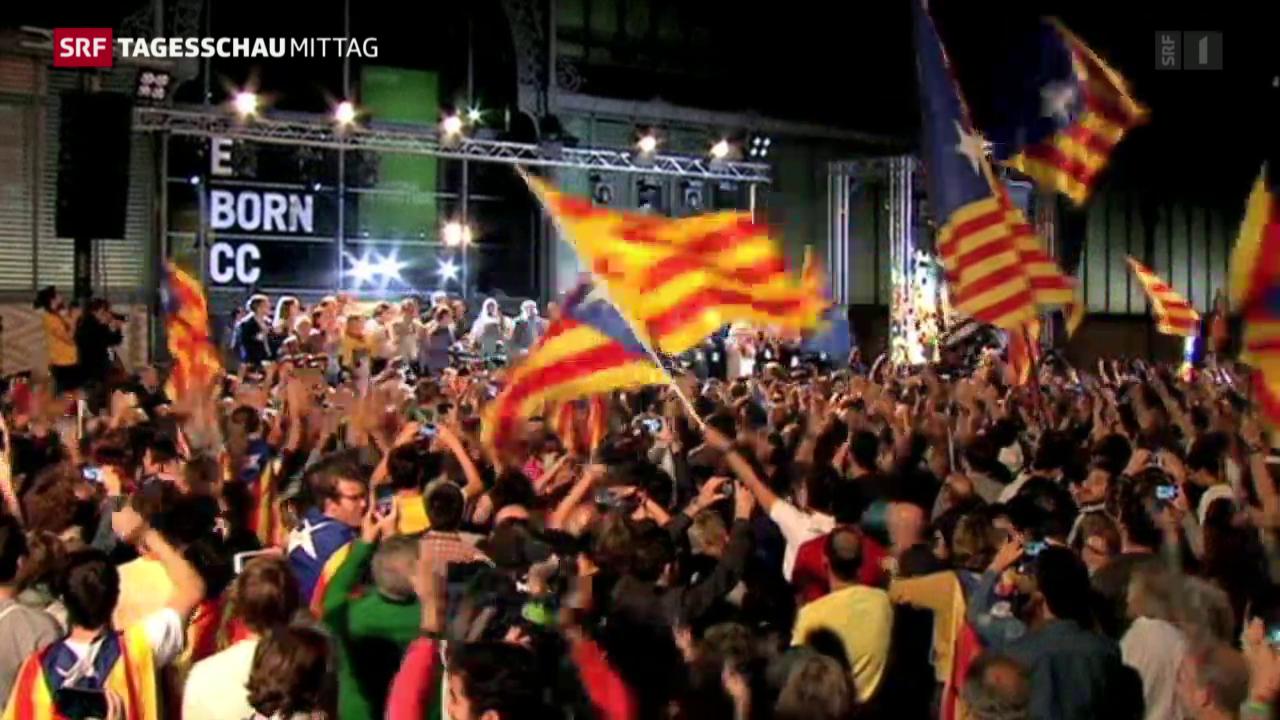 Separatistischen Parteien gewinnen Regionalwahlen in Katalonien