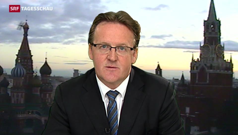 Einschätzungen von Christof Franzen, SRF-Korrespondent Moskau