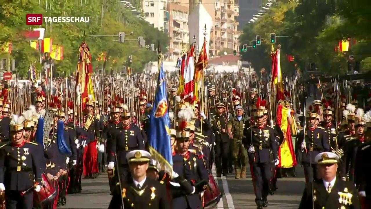 Spanien begeht Nationalfeiertag