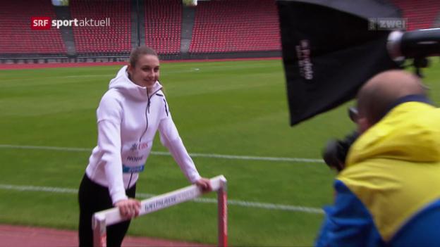 Video «Noemi Zbären am Kids Cup Day» abspielen