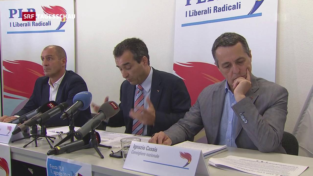 Tessiner FDP-Führung schlägt Ignazio Cassis vor