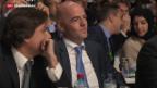 Video «Infantino: neuer Fifa-Präsident» abspielen