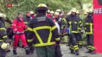 Video «Sturm «Xavier» fordert in Norddeutschland mehrere Todesopfer» abspielen