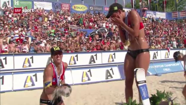 Video «Österreicherinnen triumphieren in Klagenfurt («sportaktuell»)» abspielen
