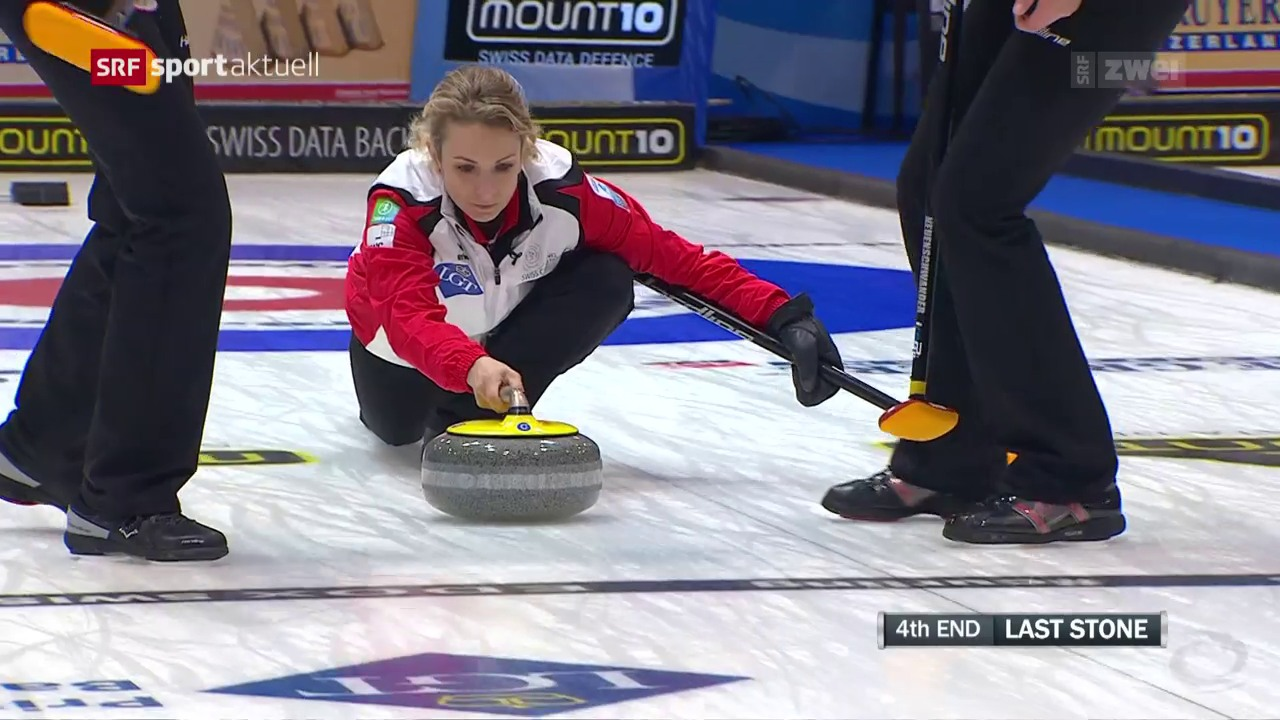 Schweizerinnen feiern gegen Russland den 4. Sieg
