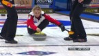 Video «Schweizerinnen feiern gegen Russland den 4. Sieg» abspielen