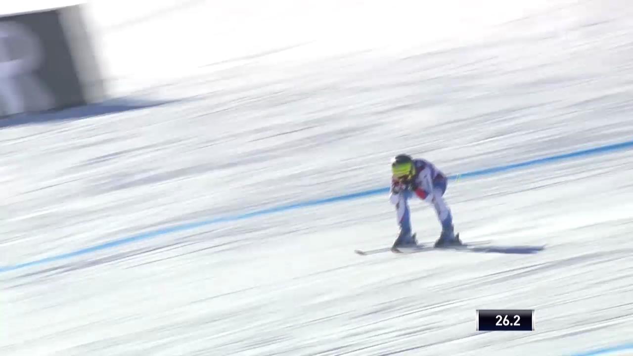 Ski: Abfahrt Frauen Val d'Isère, Fahrt von Fabienne Suter («sportlive», 21.12.2013)
