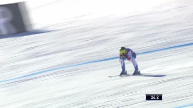 Video «Ski: Abfahrt Frauen Val d'Isère, Fahrt von Fabienne Suter («sportlive», 21.12.2013)» abspielen