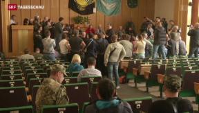 Video «OSZE-Beobachter von Milizen vorgeführt » abspielen