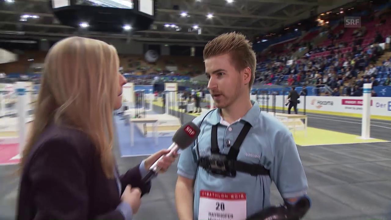 Armprothesen-Pilot Patrick Mayrhofer im Interview