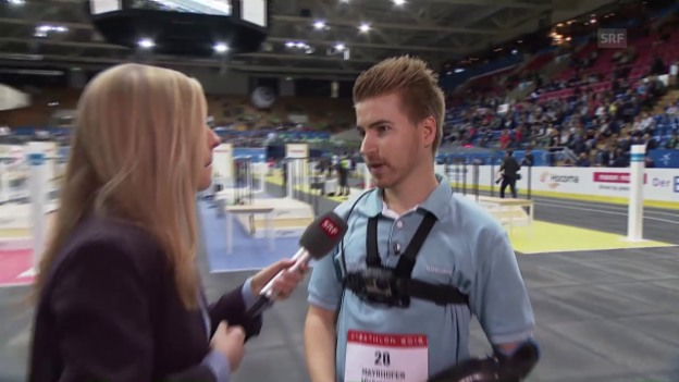 Video «Armprothesen-Pilot Patrick Mayrhofer im Interview» abspielen